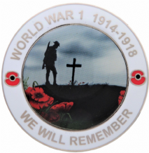 First 1st World War 1  WW1 Centenary We Will Remember Commemorative Coin in Presentation Box